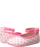 Kate Spade New York Kids - Neon Dot Ballet Slipper (Infant/Toddler)