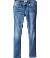 Hudson Kids - Dolly Skinny Five-Pocket Skinny Superstretch in Feather Blue (Toddler/Little Kids)