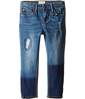 Hudson Kids - Five-Pocket Rip & Repair Skinny in Pool (Toddler/Little Kids)