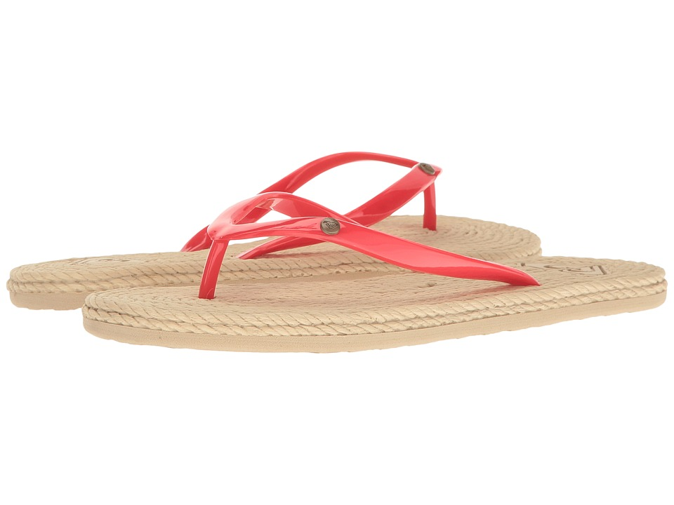Roxy - South Beach (Red) Women's Sandals