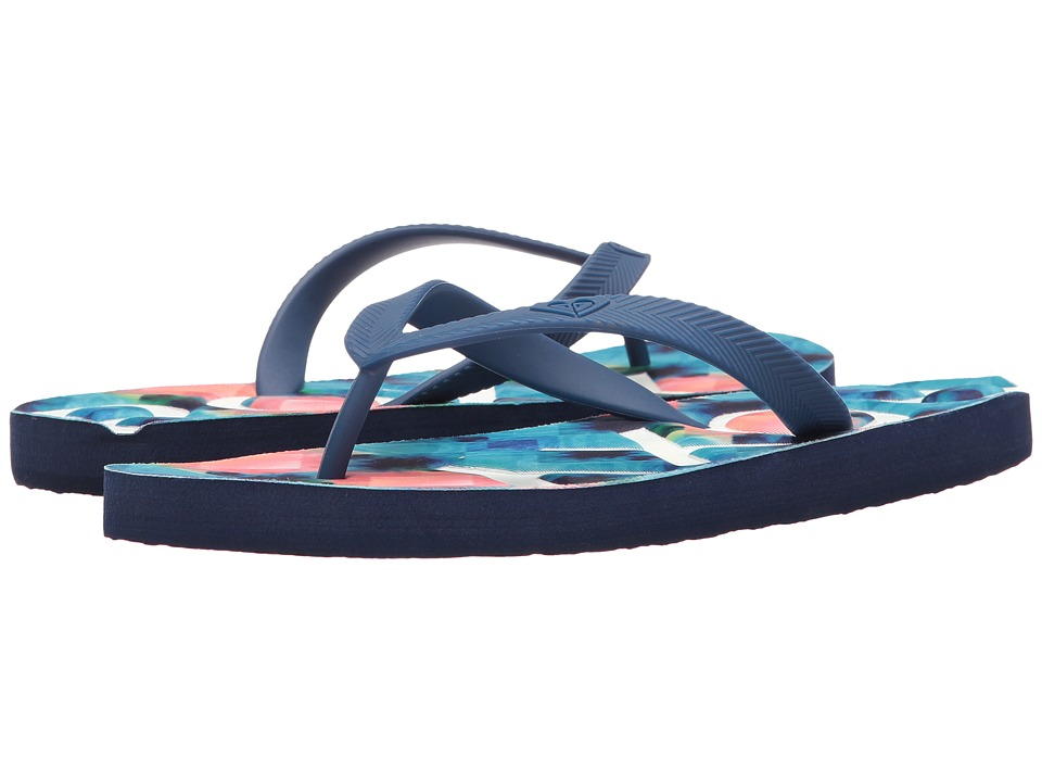 Roxy Playa (Blue/White Print) Women