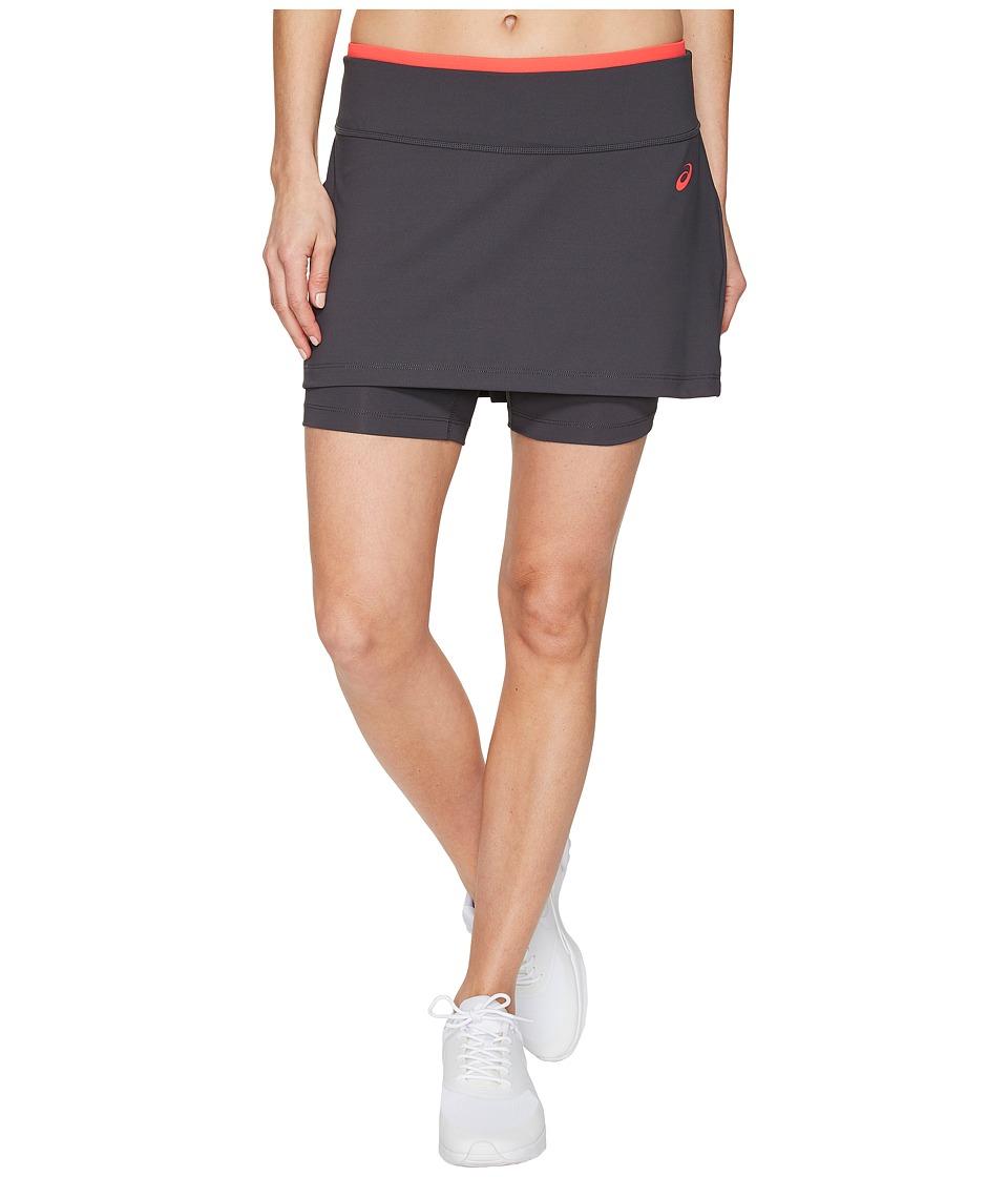 ASICS Tennis Club Booty Skort (Dark Grey) Women