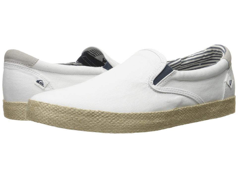 Quiksilver Shorebreak Slip-On ESP (White/White/Brown) Men
