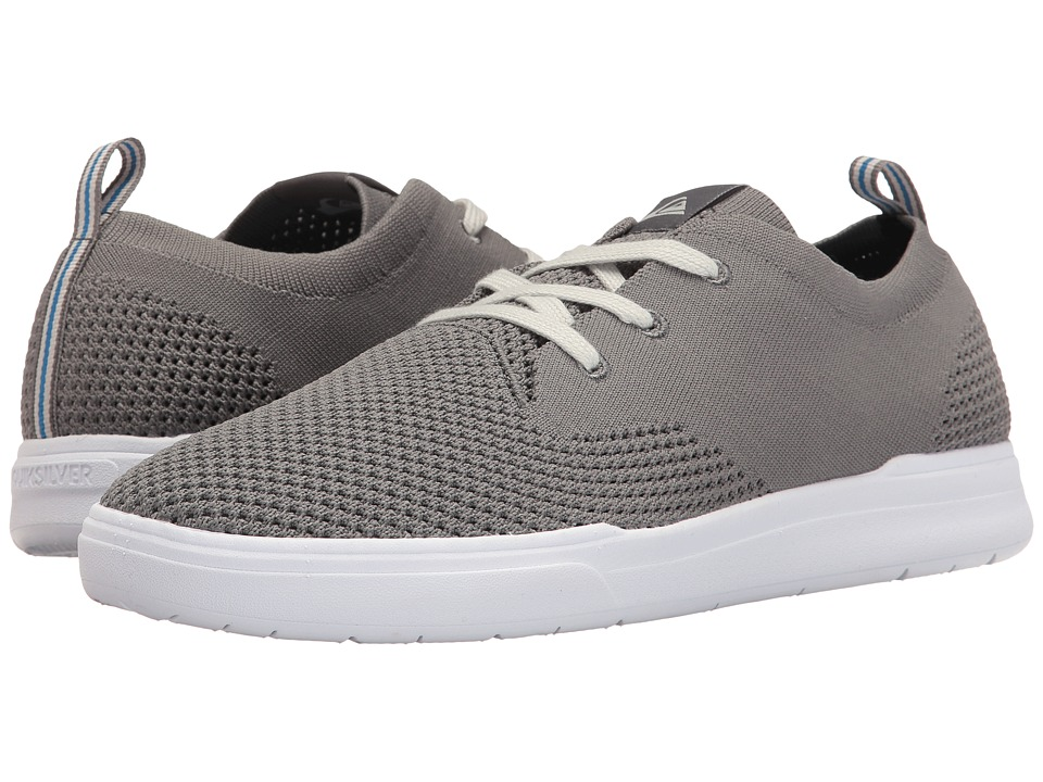 Quiksilver Shorebreak Stretch Knit (Grey/Grey/White) Men