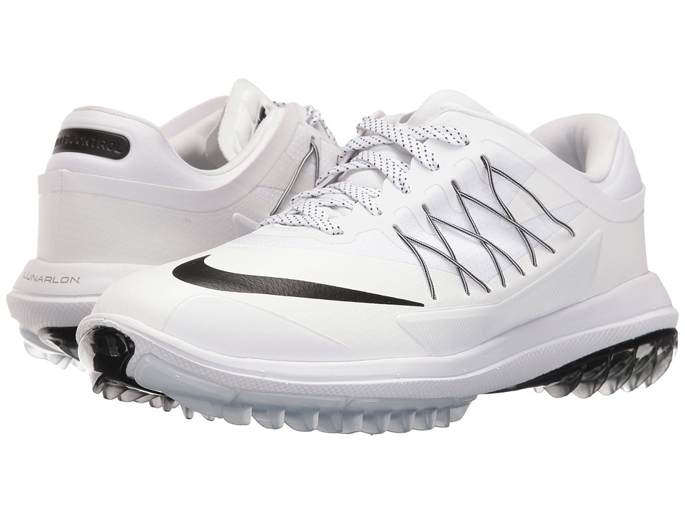 Nike Golf - Womens Lunar Control Vapor (White/Black/White) Women's Golf Shoes