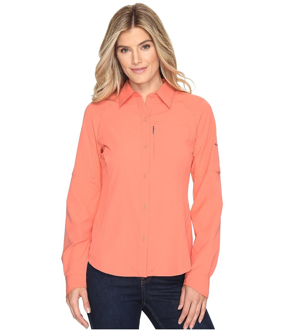 Columbia Silver Ridgetm L/S Shirt (Lychee) Women