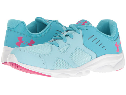 Under Armour Kids UA GGS Pace RN (Big Kid) - Opal Blue/Island Blues/Tropic Pink