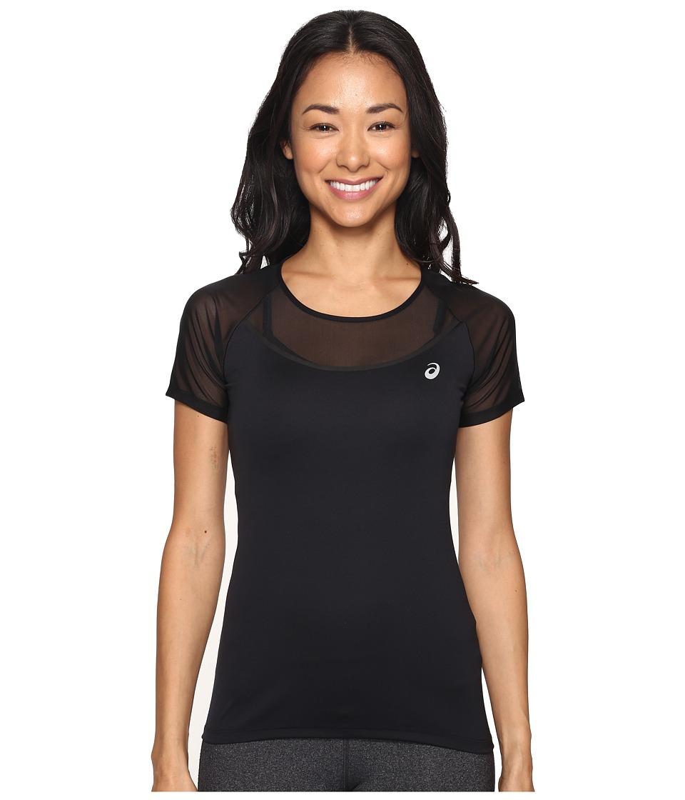ASICS Elite Short Sleeve Tee (Performance Black) Women