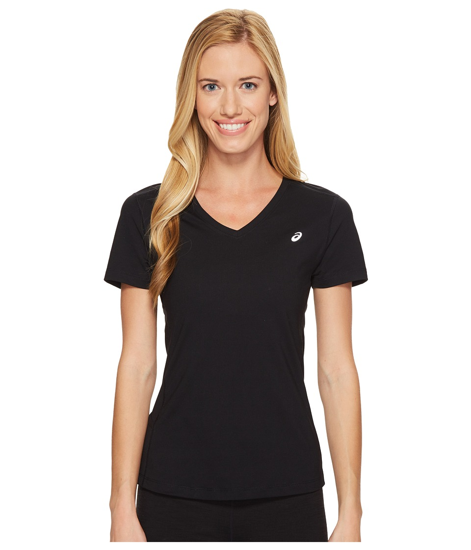 ASICS ASX Dry Short Sleeve Shirt (Performance Black) Women