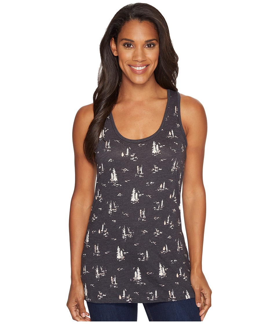 Columbia Down the Path Tank Top (Charcoal Heather) Women