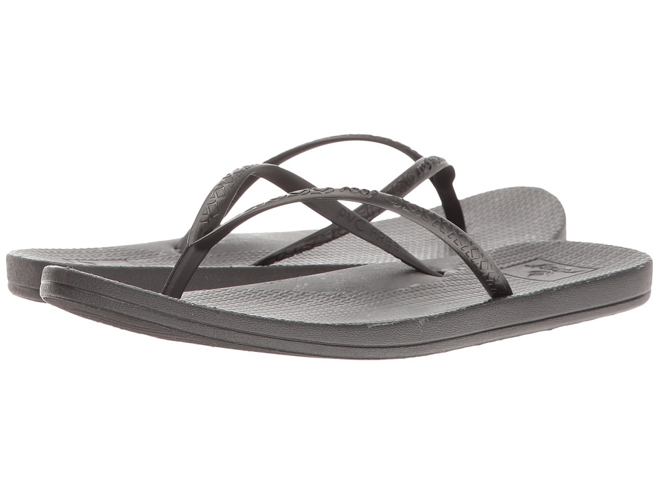 Reef - Escape Lux Print (Black Marble) Women's Sandals