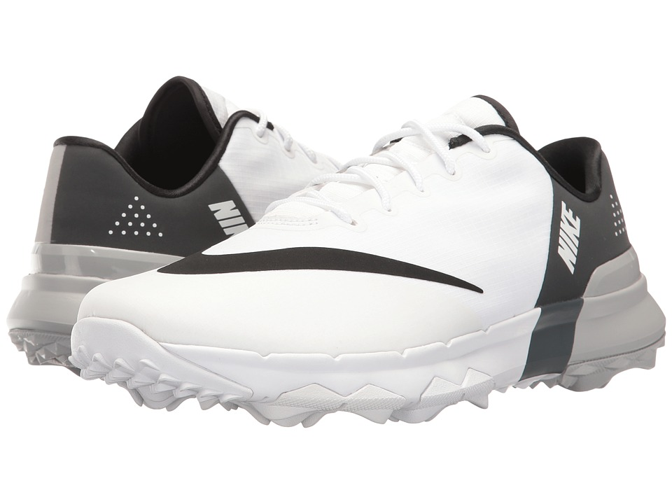 Nike Golf - FI Flex (White/Black/Anthracite/Wolf Grey) Wo...