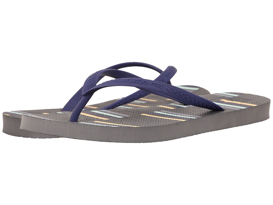 Reef - Escape Prints (Grey/Stripe) Women's Sandals