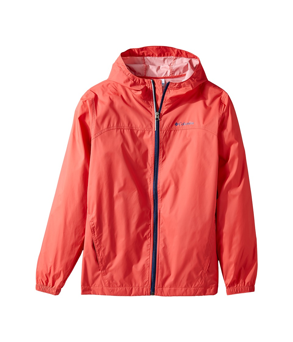Columbia Kids Glennaker Rain Jacket (Toddler) (Sunset Red) Boy