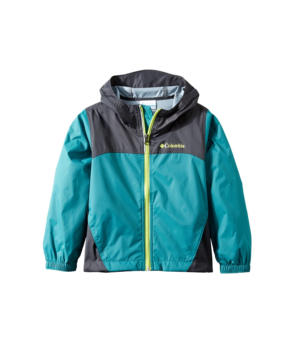 Columbia Kids Glennaker Rain Jacket (Toddler) (Waterfall/Shark/Voltage) Boy