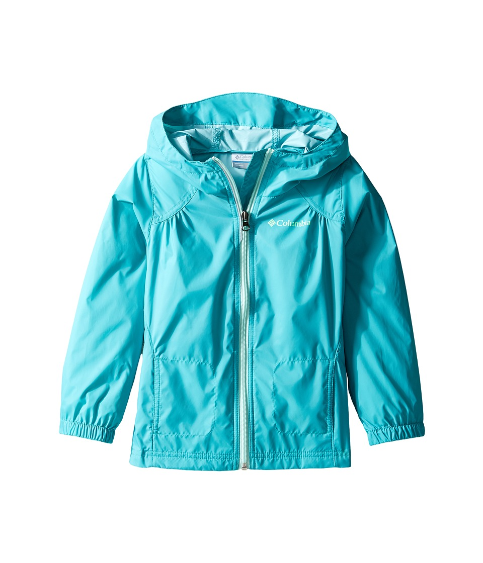 Columbia Kids Switchback Rain Jacket (Toddler) (Miami/Sea Ice) Girl