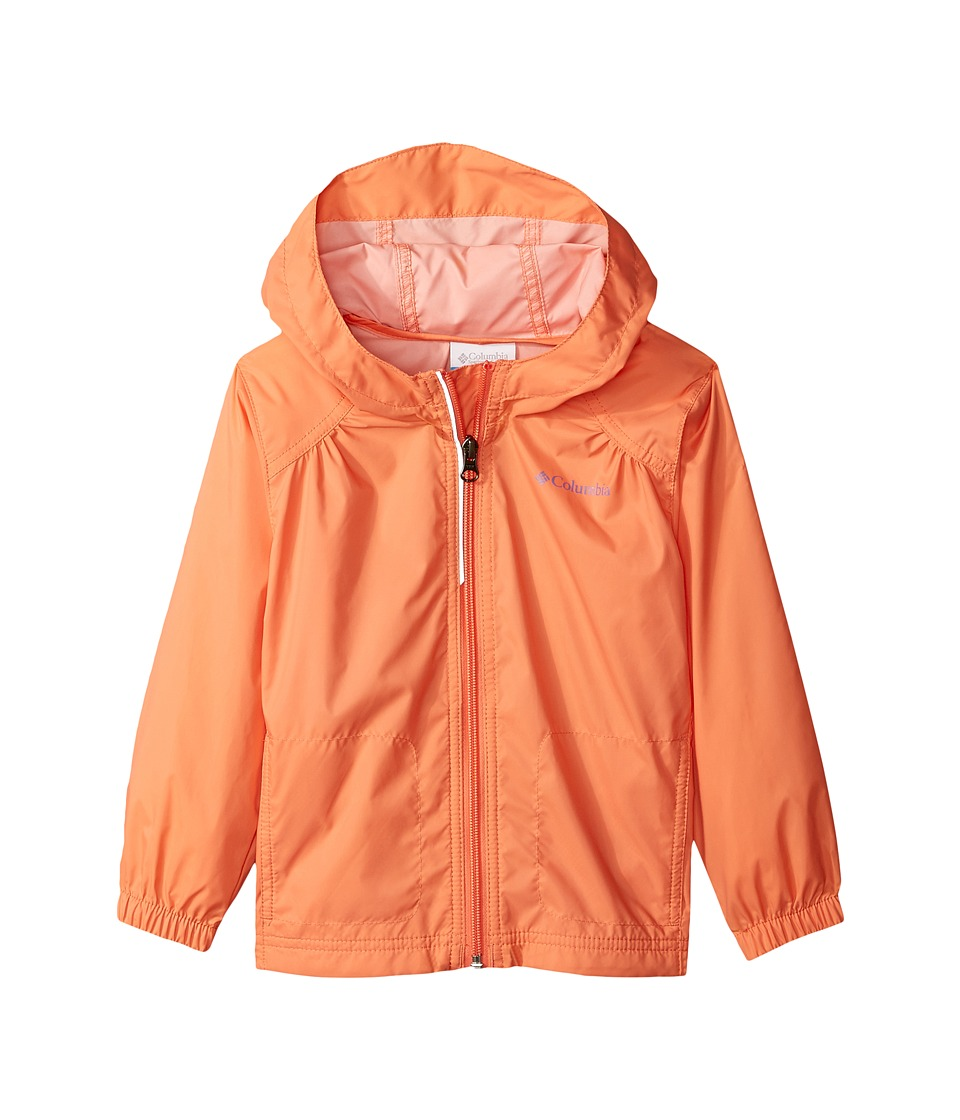 Columbia Kids Switchback Rain Jacket (Toddler) (Lychee/Paisley Purple) Girl