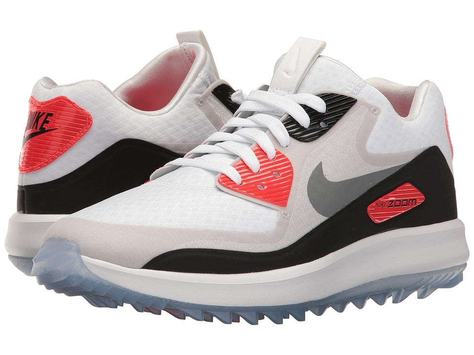 Nike Golf - Air Zoom 90 IT (White/Cool Grey/Natural Grey/...