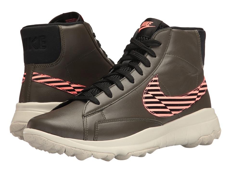 Nike Golf - Blazer (Cargo Khaki/Black/Love Glow/Light Bone) Womens Golf Shoes