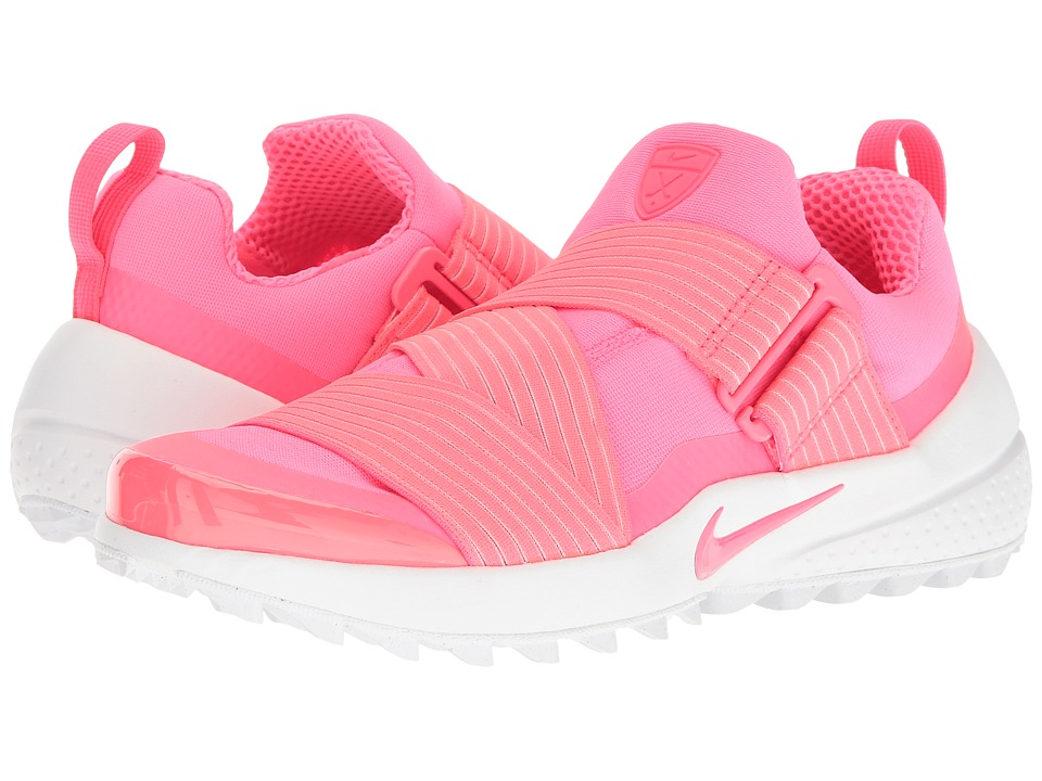 Nike Golf - Air Zoom Gimme (Racer Pink/Race Pink/White) W...