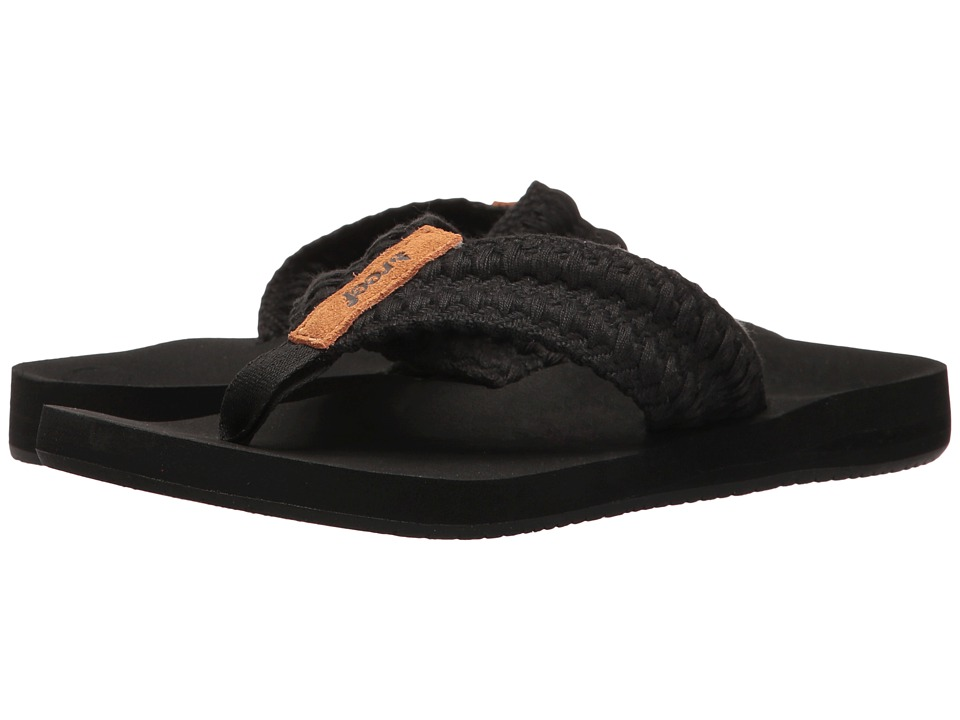 Reef - Cushion Threads (Black) Women's Sandals