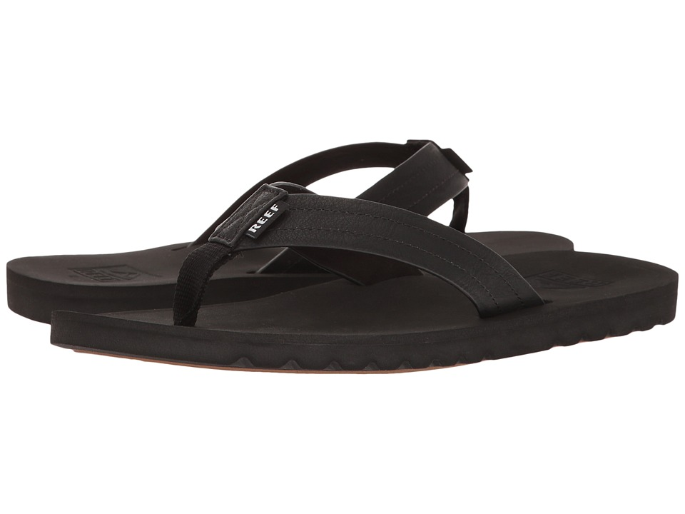 Reef - Voyage (Black) Men's Sandals
