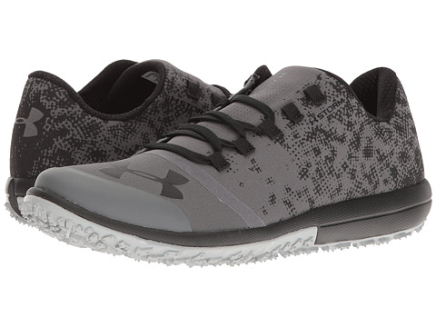 Under Armour UA Speed Tire Ascent Low - Rhino Gray/Black/Black