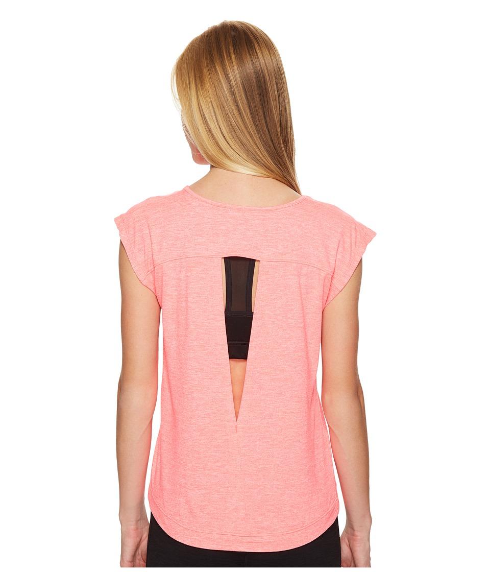 ASICS ASX Lux Short Sleeve Top (Diva Pink) Women
