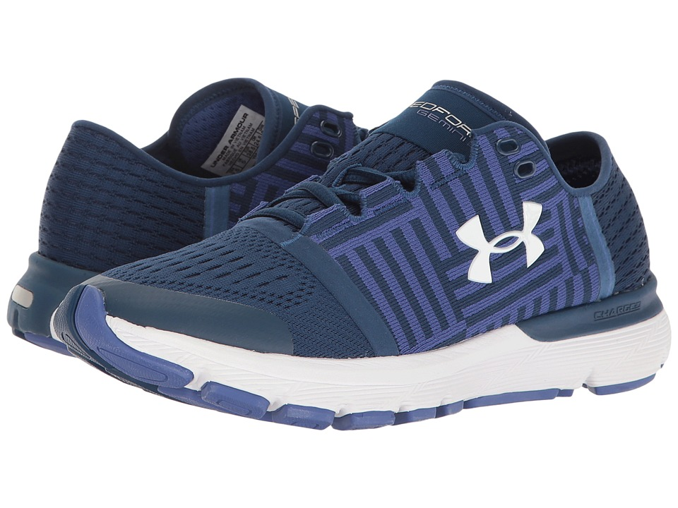 Under Armour - UA Speedform Gemini 3 (Blackout Navy/Deep Periwinkle/White) Womens Running Shoes