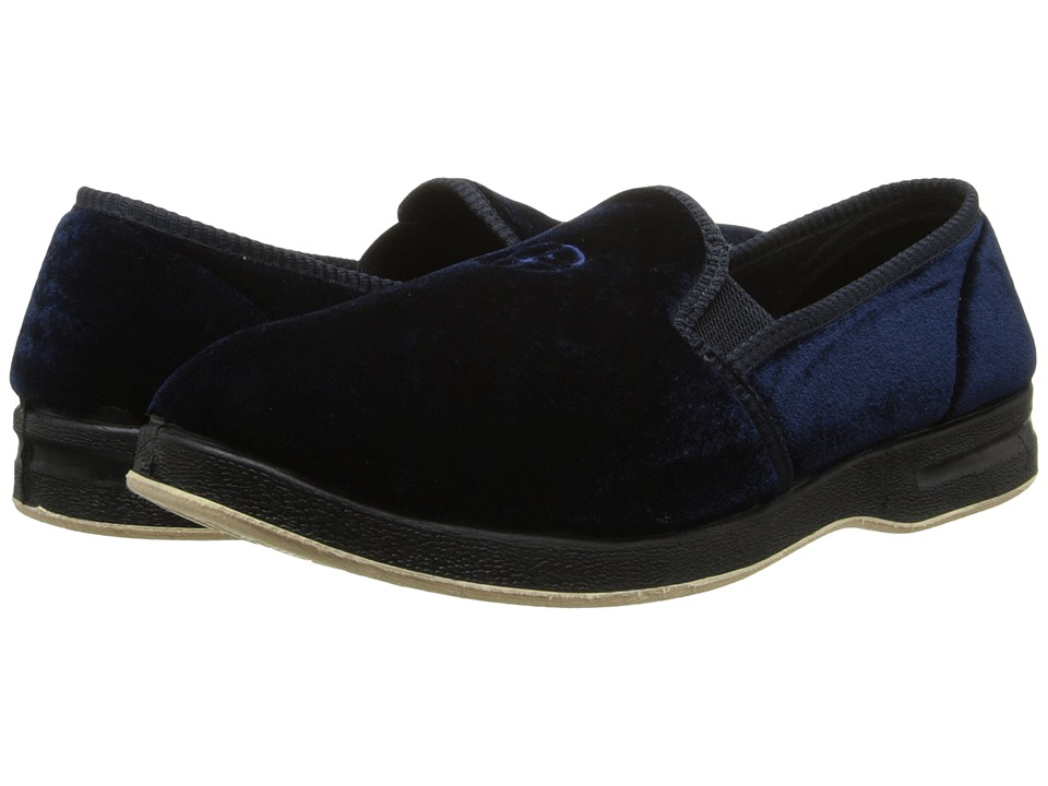 Foamtreads Glendale Navy Mens Slippers