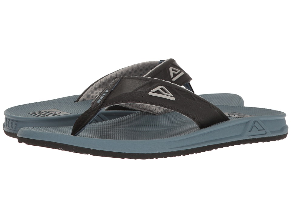 Reef Phantoms (Black/Steel Blue) Men