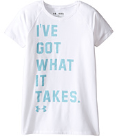 Under Armour Kids - UA Got What It Takes Short Sleeve Tee (Big Kids)