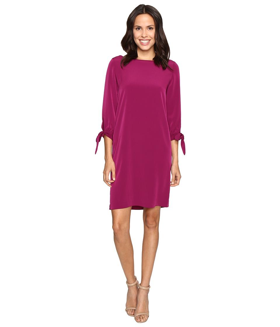 Christin Michaels Alcoa Dress (Boysenberry) Women