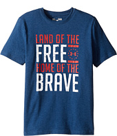 Under Armour Kids - Land Of The Free Tee (Big Kids)