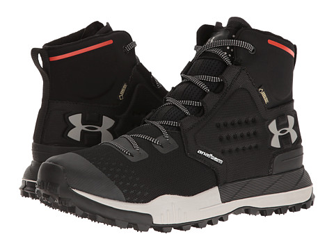 Under Armour UA Newell Ridge Mid GTX - Black/Gray Matter/Gray Wolf