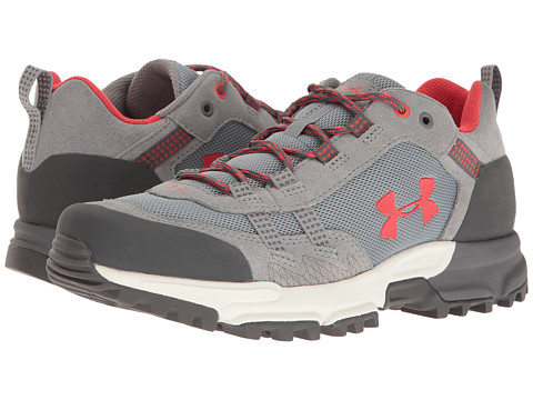 Under Armour UA Defiance Low - Steel/Rhino Gray/Pomegranate