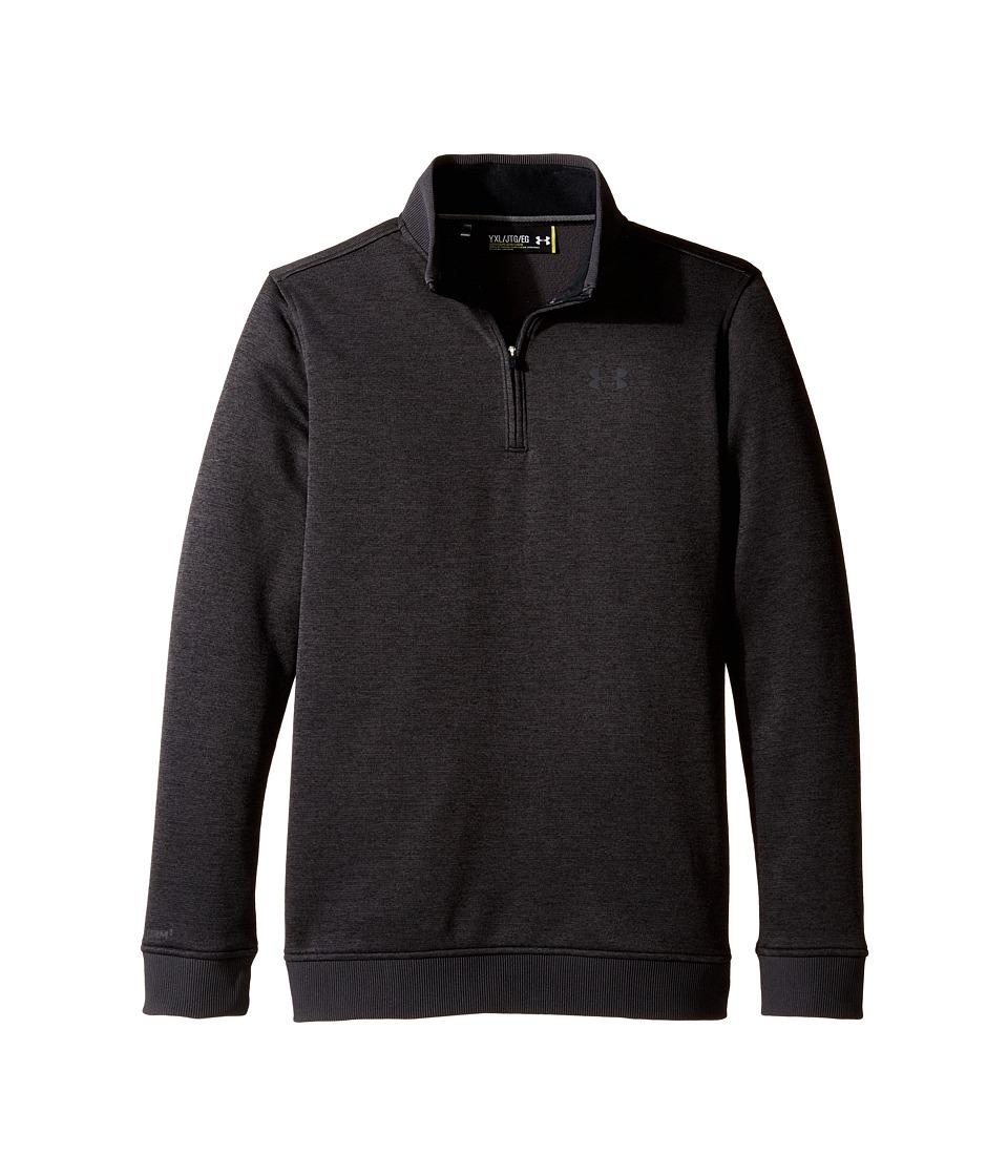 Under Armour Kids - Storm Sweater Fleece 1/4 Zip (Big Kids) (Asphalt Heather/Asphalt Heather) Boys Clothing