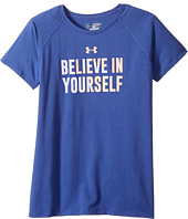 Under Armour Kids - UA Believe in Yourself Short Sleeve Tee (Big Kids)