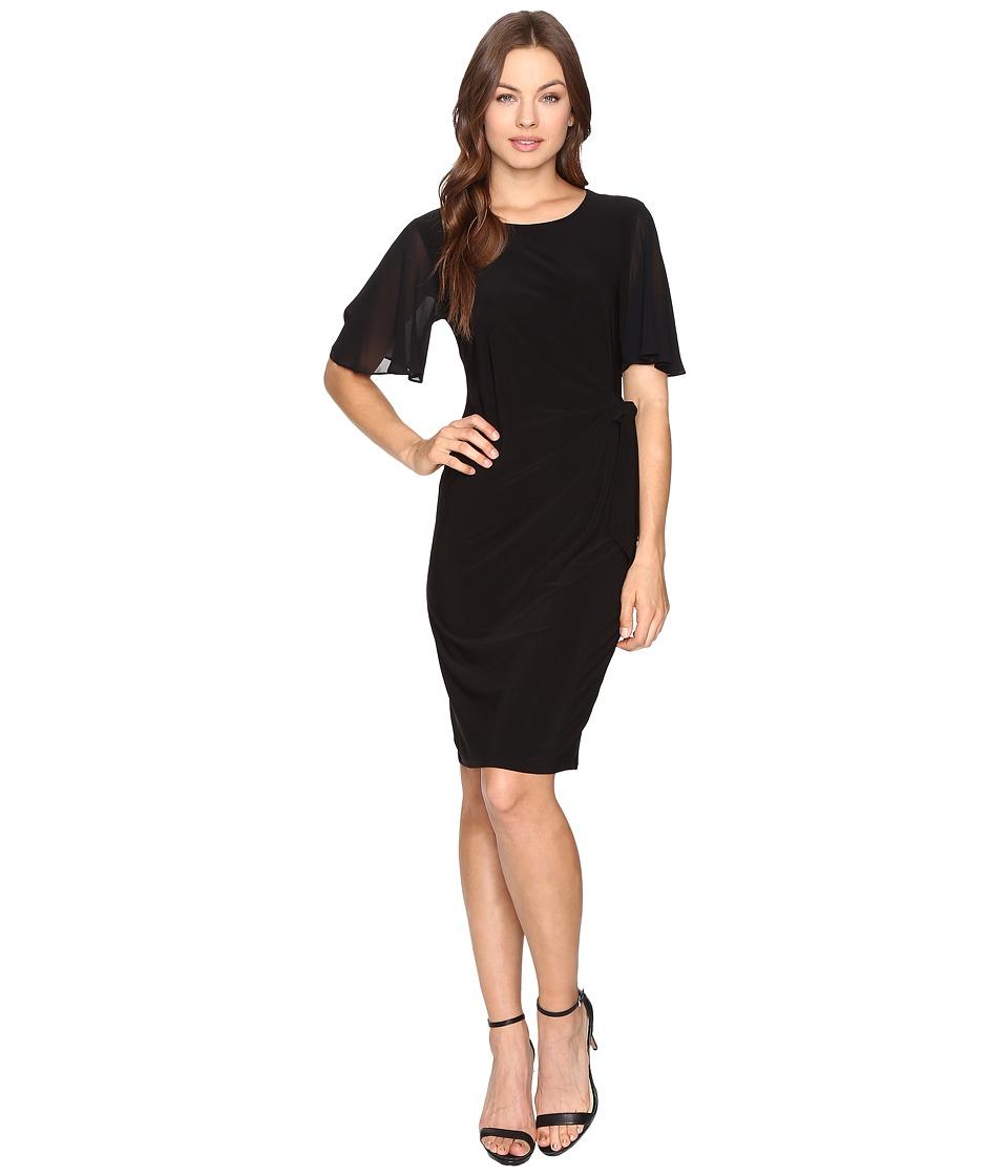 Christin Michaels Gleeson Dress (Black) Women