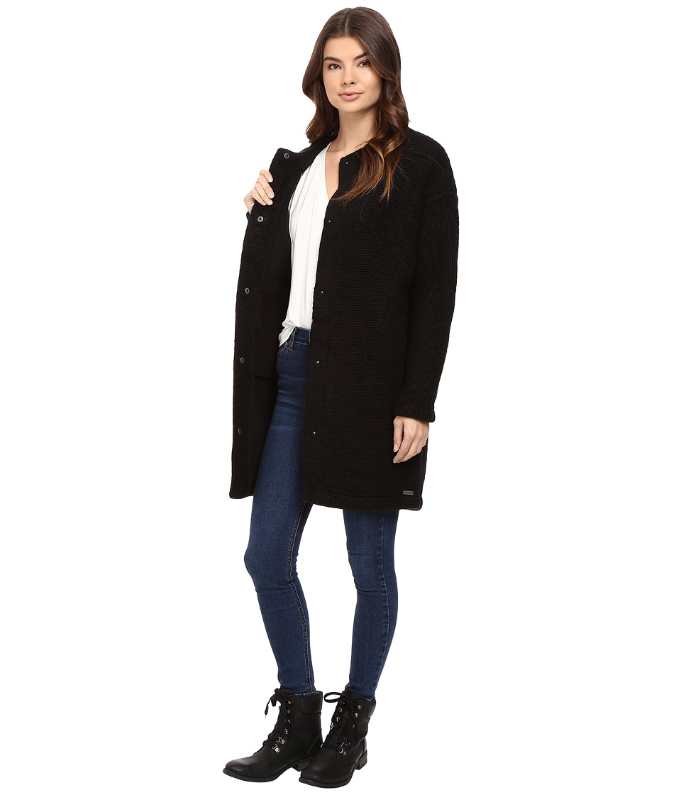Image of Bench - Aptness Jacket (Jet Black) Women's Coat