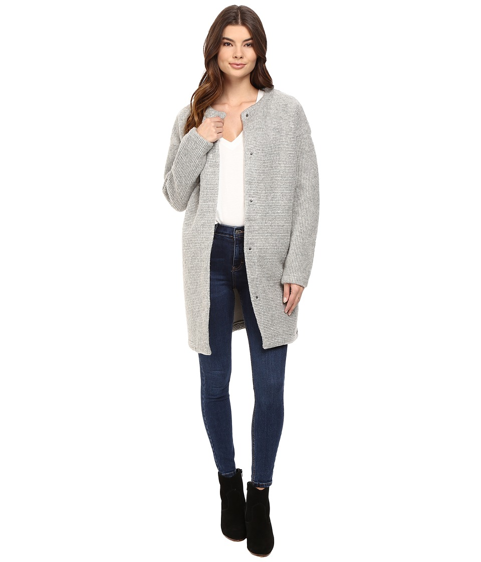 Image of Bench - Aptness Jacket (Grey Marl) Women's Coat