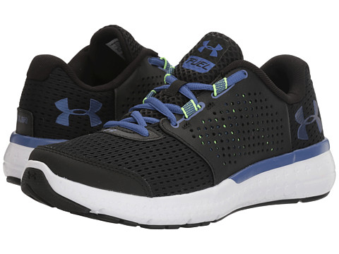 Under Armour UA Micro G Fuel RN - Black/White/Deep Periwinkle