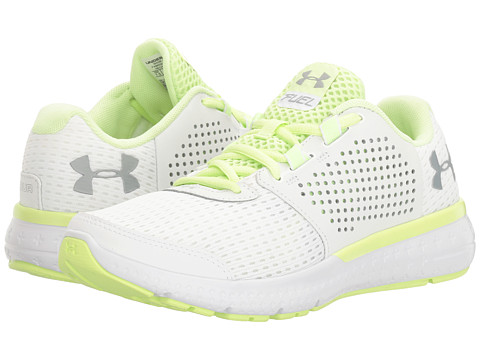 Under Armour UA Micro G Fuel RN - White/Lime Fizz/Overcast Gray