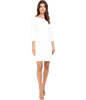 Christin Michaels - McKenzie Textured Sheath Dress