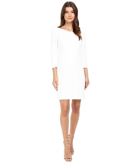 Christin Michaels McKenzie Textured Sheath Dress