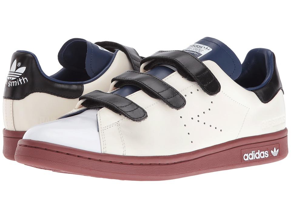 Image of adidas by Raf Simons - Raf Simons Stan Smith CF (Cream White/Dark Blue/Fox Brown) Shoes