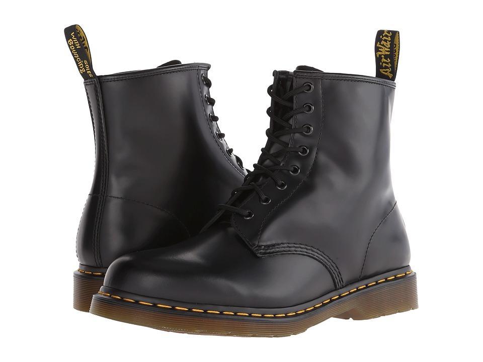 Dr. Martens 1460 (Black Smooth) Lace-up Boots
