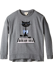 Kate Spade New York Kids - Cat Sweatshirt (Little Kids/Big Kids)