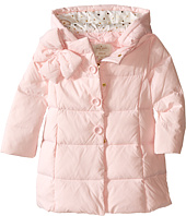 Kate Spade New York Kids - Bow Neck Puffer Coat (Toddler/Little Kids)