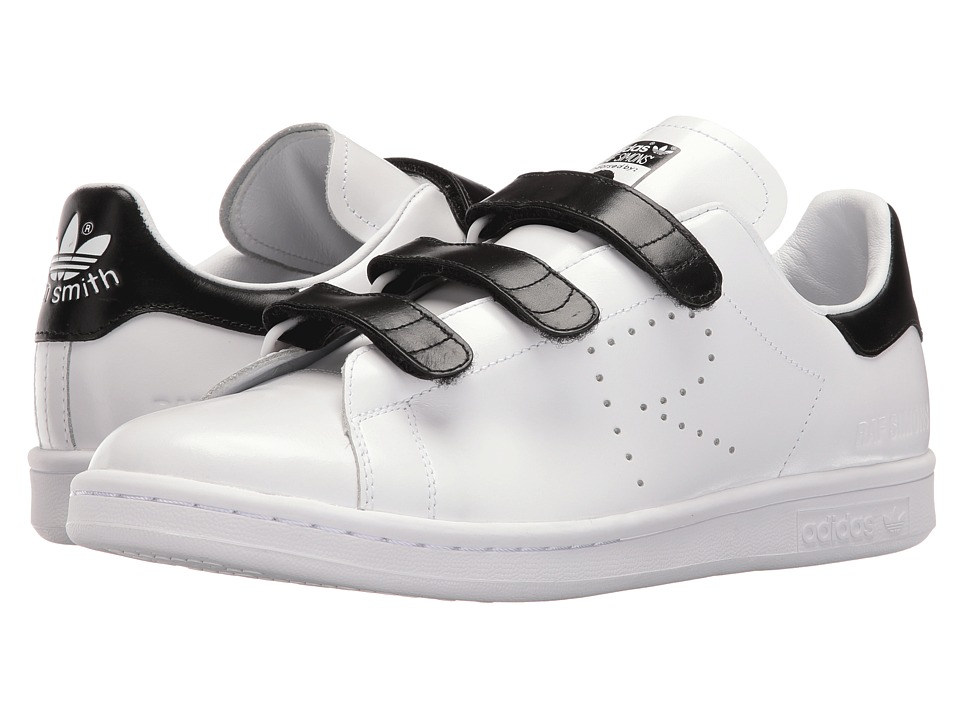 Image of adidas by Raf Simons - Raf Simons Stan Smith CF (White/Black/White) Shoes